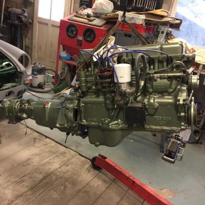 Ensemble moteur boite